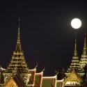 APTOPIX Thailand Supermoon