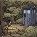 thumbs disney princess tardis dr who 01