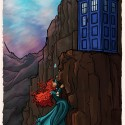 thumbs disney princess tardis dr who 03