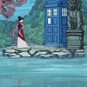 thumbs disney princess tardis dr who 04
