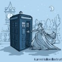 thumbs disney princess tardis dr who 07