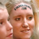dnews Golden Palace.com forehead tattoo