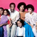Malcolm-Jamal Warner, Keshia Knight Pulliam, Bill Cosby, Phylicia Rashad and Lisa Bonet (top row, from left), Tempestt Bledsoe (bottom)