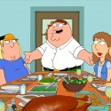 "FAMILY GUY: As the gang prepares to enjoy Thanksgiving dinner Joe and Bonnie's missing son appears in the ""Thanksgiving"" episode of FAMILY GUY airing Sunday, Nov. 20 (9:00-9:30 PM ET/PT) on FOX.  FAMILY GUY ™ and © 2011 TTCFFC ALL RIGHTS RESERVED."