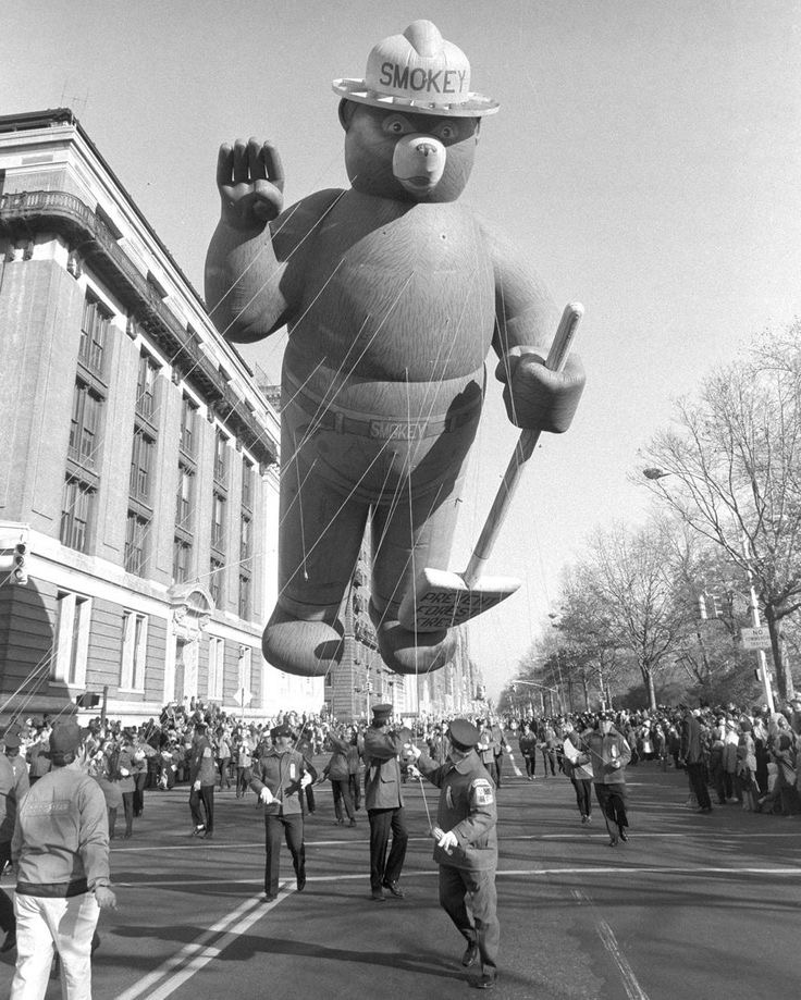 Balloons Of The Macy's Thanksgiving Day Parade