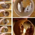 thumbs toilet paper roll art elias 05