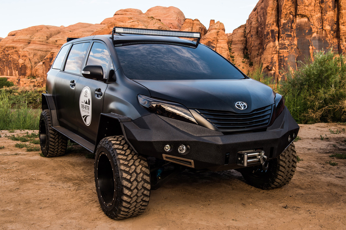 Honda Ridgeline Off Road >> Best of SEMA 2015 : Off-Road