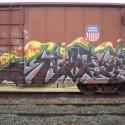 thumbs train graffitti 38