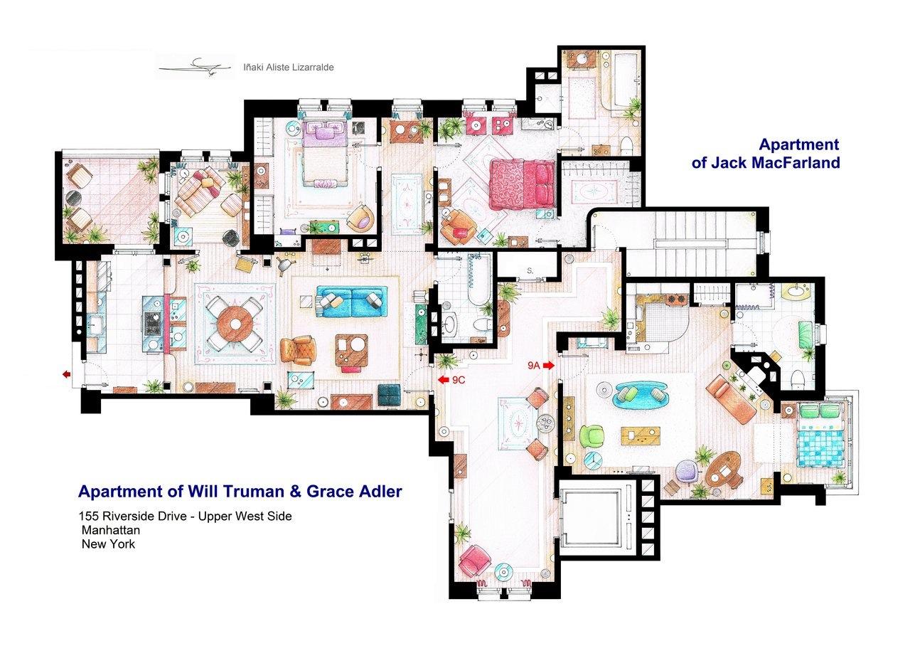 Amazing Television Floor Plans