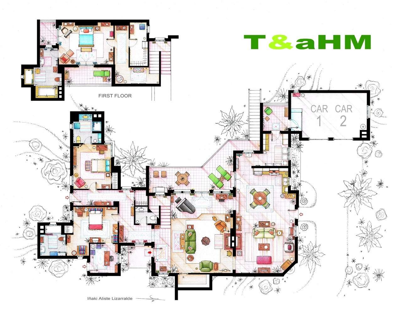 Amazing television floor plans for Amazing plans com