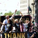 thumbs uswnt world cup parade 3