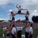 thumbs villanova cheerleaders 13