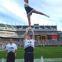 thumbs villanova cheerleaders 31