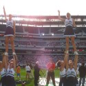 thumbs villanova cheerleaders 34
