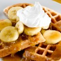 thumbs banana waffles