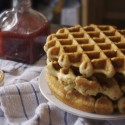thumbs peanut butter and jelly waffles