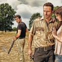 Shane Walsh (Jon Bernthal), Rick Grimes (Andrew Lincoln) and Lori Grimes (Sarah Wayne Callies) - The Walking Dead - Photo Credit: Matthew Welch/AMC - TWD2_GAL_Barn_Love_0106_rt