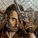thumbs walking dead fan art 022