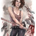 thumbs walking dead fan art 039
