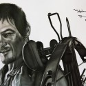 thumbs walking dead fan art 053