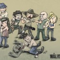 thumbs walking dead fan art 074