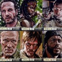 thumbs walking dead fan art 111