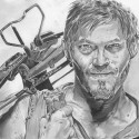 thumbs walking dead fan art 132