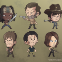 thumbs walking dead fan art c