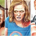 thumbs walking dead fan art f