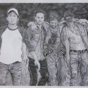thumbs walking dead fan art k
