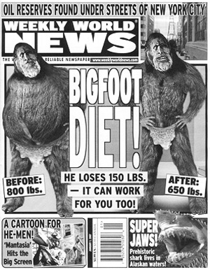 weekly world news not so fair and balanced