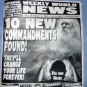 thumbs ten new commandments found
