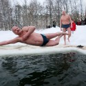 Russia Ice Swimming
