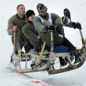 GERMANY-TRADITIONS-SLEDGE-RACE-OFFBEAT