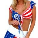 thumbs sexy women of independence day fourth of july america 55