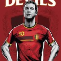 thumbs belgium red devils